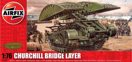Airfix byggesett 1/76 Churchill Brigde Layer A04301