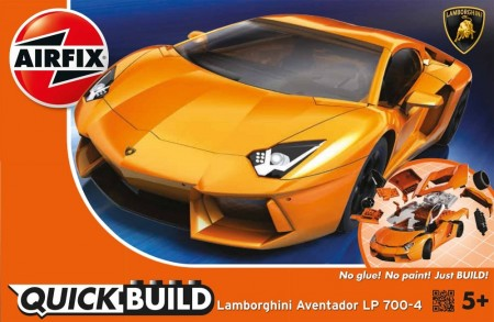 Airfix QUICK BUILD Lamborghini Aventador LP 700-4 J6007