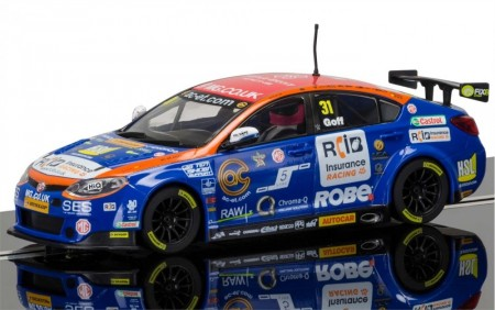 Scalextric bil 1:32 BTCC MG6 No. 31 Brands Hatch 2015 C3736