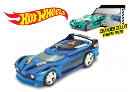 Hot Wheels Hyper Racer Spin King m/Lyd og Lys