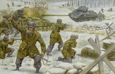 Italeri 1/72 WWII Battle of The Bulge