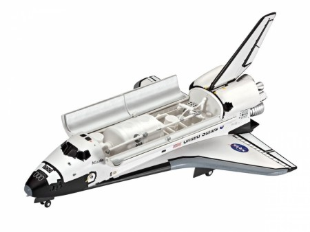 Revell Startsett 1/144 Space Shuttle Atlantis