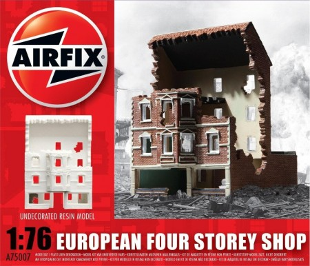 Airfix Diorama 1/76 European Four Storey Shop A75007