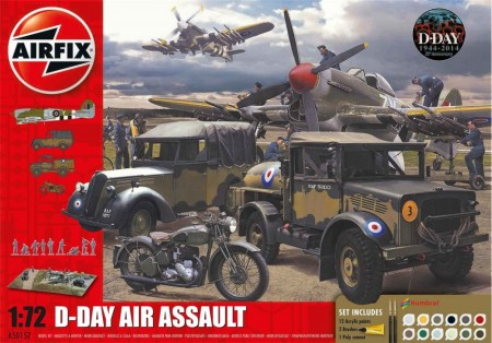 Airfix Gavesett 1/72 D-Day Air Assault A50157