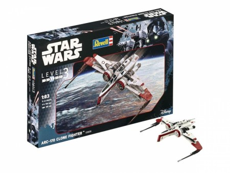 Revell 1/83 Star Wars ARC-170 Clone Fighter