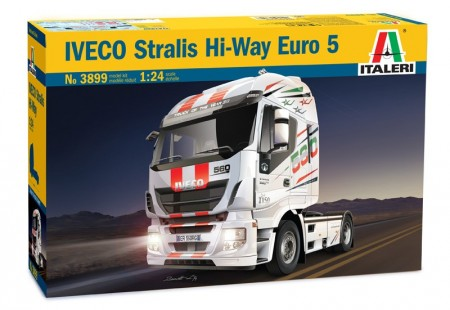 Italeri byggesett 1/24 IVECO Strails Hi-Way Euro 5 No 3899