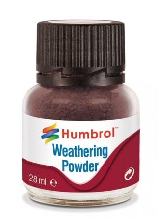 Humbrol Weathering Powder - Dark Earth 28ml