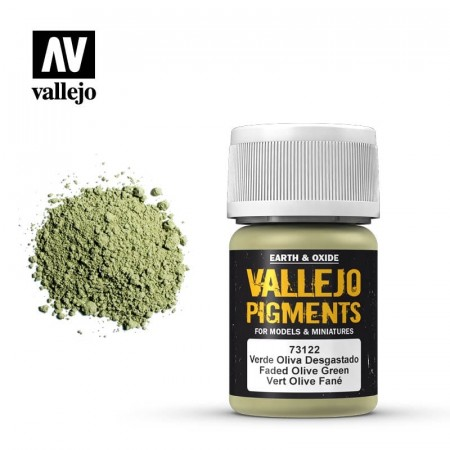 Vallejo Pigments Faded Olive Green 35ml