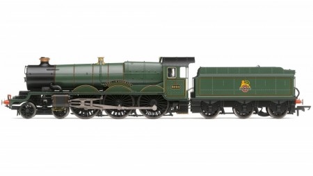 Hornby BR 4-6-0 5050 Earl of St Germans Castle Class - Early BR DCC Fitted med TTS Sound