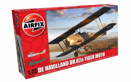 Airfix 1/72 De Havilland DH.82a Tiger Moth