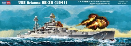 HobbyBoss 1/350 USS Arizona BB-39 (1941)
