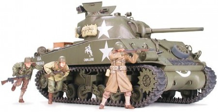 Tamiya 1/35 M4A3 Sherman 75mm Gun Late Production