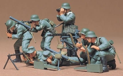 Tamiya 1/35 German Machine Gun Troops