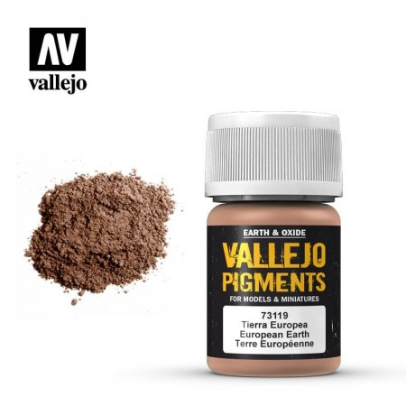 Vallejo Pigments European Earth 35ml