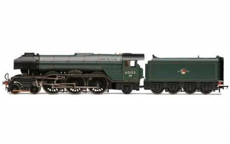 Hornby BR A3 Class 4-6-2 60103 'Flying Scotsman' Brunswick Green DCC Fitted med TTS Sound