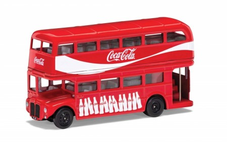 Corgi 1/64 Coca-Cola London Bus