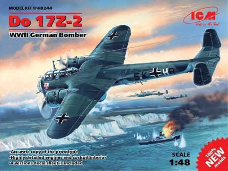ICM 1/48 WWII German Bomber Do 17Z-2