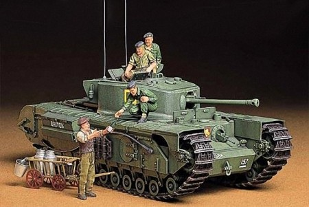 Tamiya 1/35 British Infantry Tank Churchill Mk.VII