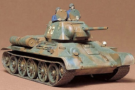Tamiay 1/35 Russian Tank T34/76 1943 Production Model