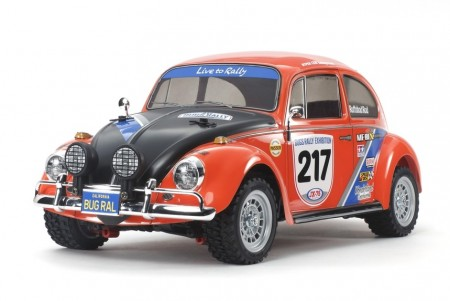 Tamiya RC byggesett 1/10 VW Beetle Rally (MF-01X)