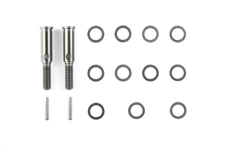 54183 Tamiya M-Chassis Reinforced Freewheel Axle Set