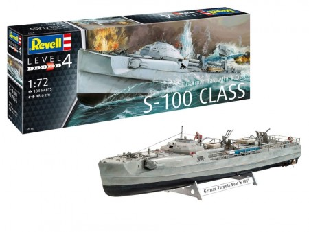 Revell 1/72 German Fast Attack Craft S-100