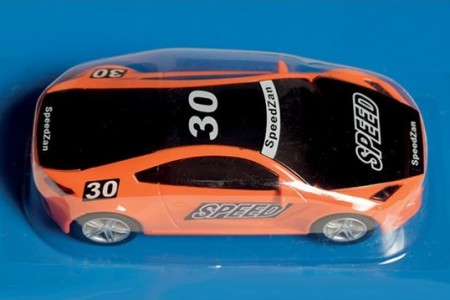 SpeedZan bil 1/43 Speed Orange Racer