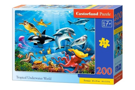 Castorland Tropical Underwater World 200 Brikker