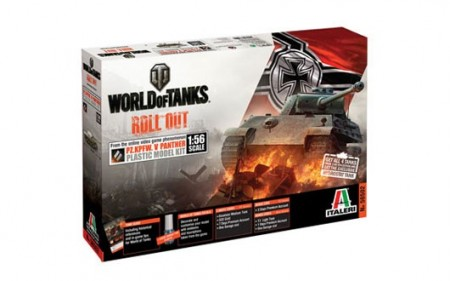 Italeri 1/56 World of Tanks Pz.Kpfw. V Panther m/Lim