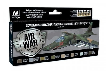 Vallejo Model Air Soviet/Russian Colors Tactical Schemes 1978-1989 (Part II)