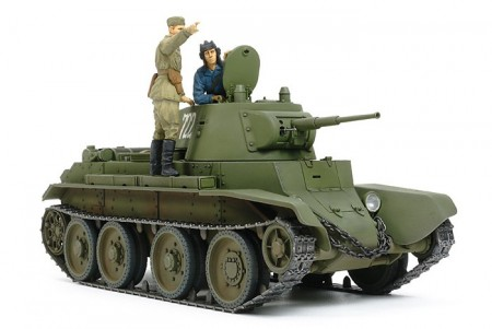 Tamiya 1/35 Russian Tank BT-7 Model 1937