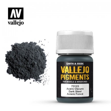 Vallejo Pigments Dark Steel 35ml