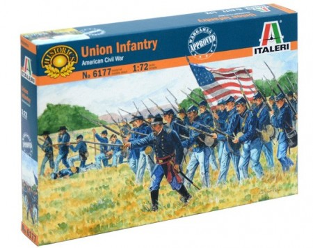 Italeri 1/72 Union Infantry American Civil War 6177