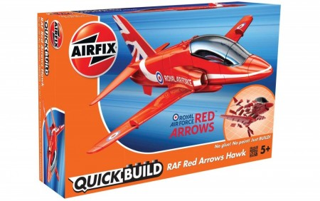 Airfix QUICK BUILD RAF Red Arrows Hawk