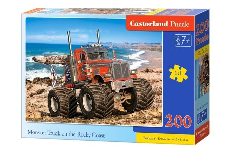 Castorland Monster Truck on the Rocky Coast 200 Brikker