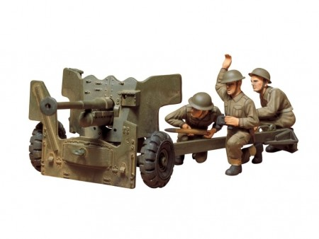 Tamiya 1/35 British 6 Pounder Anti-Tank Gun