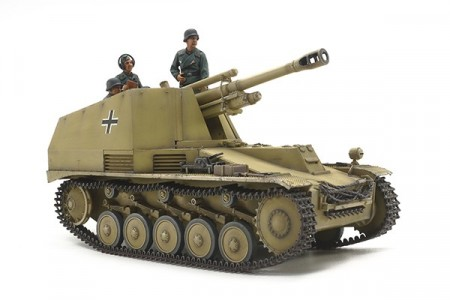 Tamiya 1/35 German Self-Propelled Howitzer Wespe Italian Front