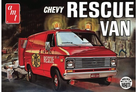 AMT 1/25 Chevy Rescue Van