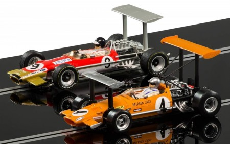 Scalextric bilsett 1:32 GP Legends McLaren vs Lotus Limited Edition C3544A