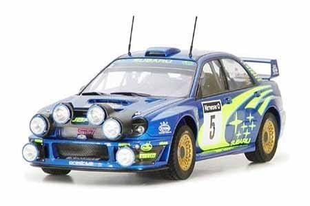 Tamiya 1/24 Subaru Impreza WRC 2001 Rally of Great Britain