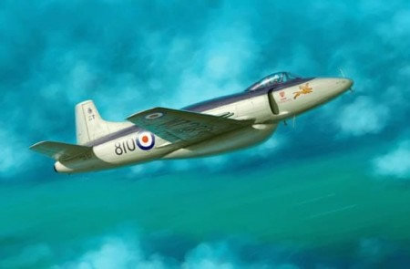 Trumpeter 1/48 Supermarine Attacker FB.2