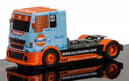 Scalextric Lastebil 1:32 Team Truck Gulf No.68