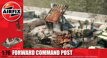 Airfix Plastbyggesett 1/76 Forward Command Post A03381
