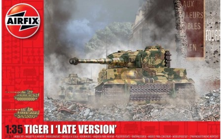 Airfix 1/35 Tiger I Late Version