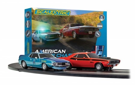 Scalextric Bilbane 1:32 American Police Chase