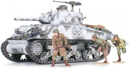 Tamiya 1/35 U.S Medium Tank M4A3 Sherman 105mm Howitzer (Assault Support)