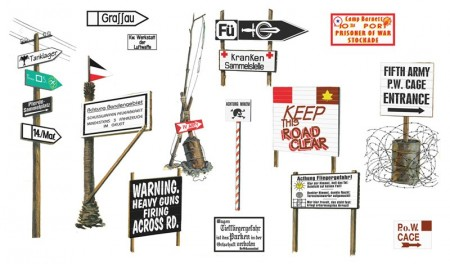 Italeri 1/35 Road Signs II