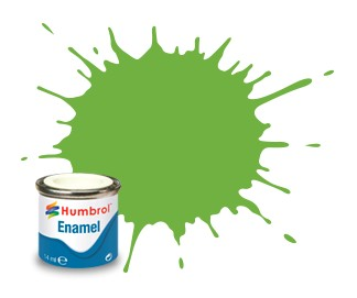 Humbrol Enamel No 38 Lime - Blank 14ml