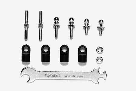 53662 Tamiya TT-01, TGS Turnbuckle Tie-Rod Set