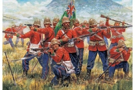 Italeri 1/72 British Infantry Zulu Wars